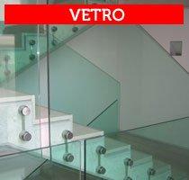 scale e ringhiere in vetro