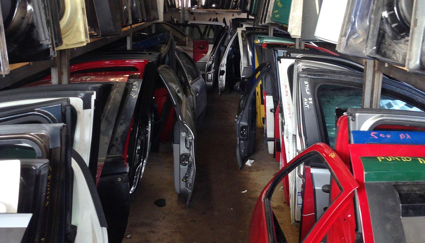 sportelli da auto demolite