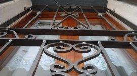 cancelli di ferro battuto, cancelli di sicurezza, ferro battuto