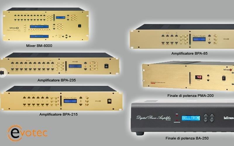 Amplificatore, mixer, finale di potenza
