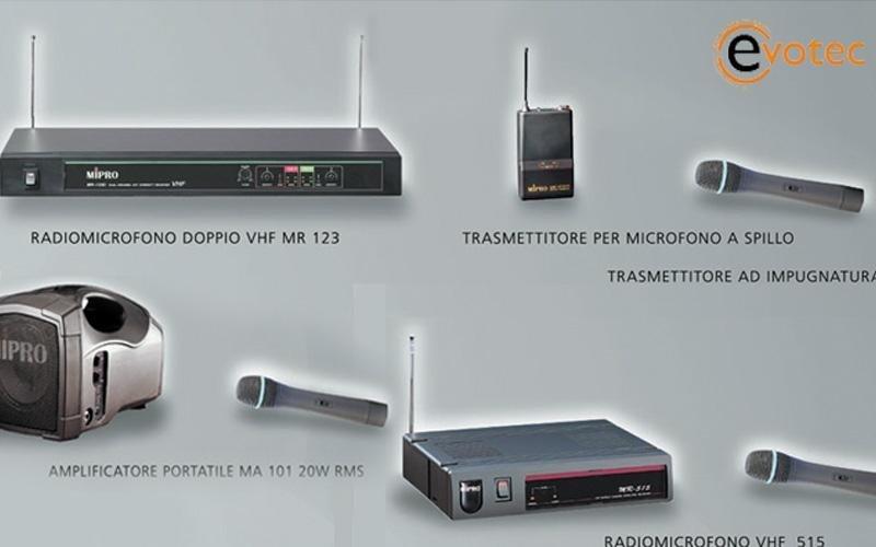 Diffusori, amplificatori stereo, mixer
