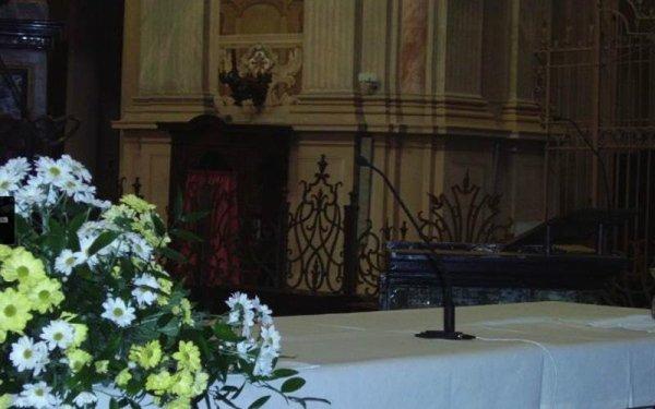 Microfono in chiesa