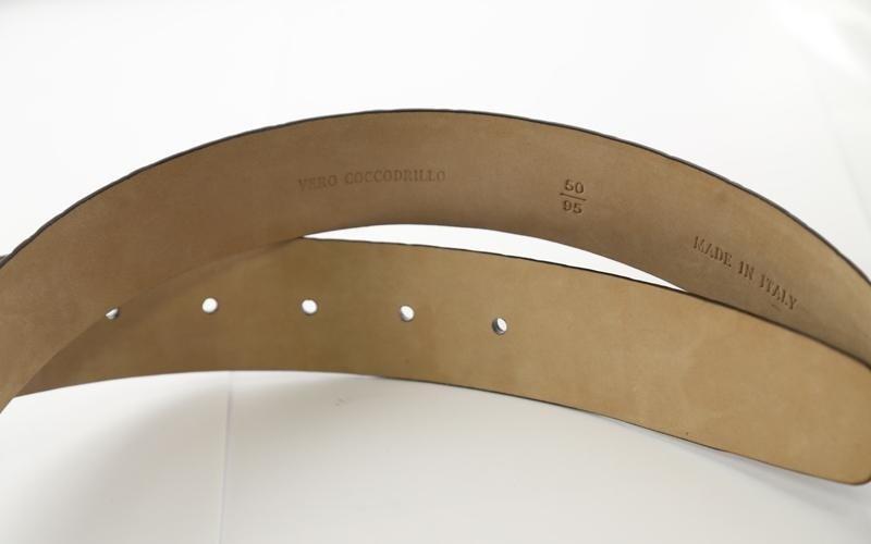 modena belt detail