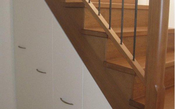 Mobili legno per sottoscala monza brianza scale mauri - Mobili sottoscala in legno ...
