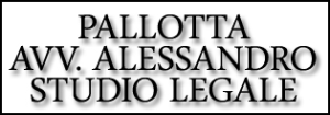 PALLOTTA AVV. ALESSANDRO STUDIO LEGALE