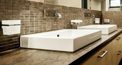 granite bathroom tops