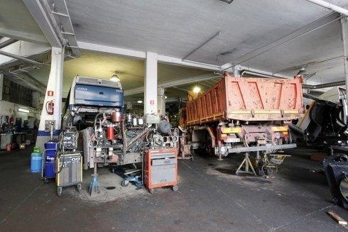 camion arancio