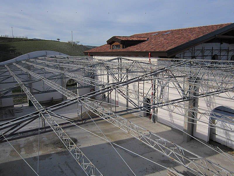 Coperture industriali lavoro su agriturismo Garaguso (MT)