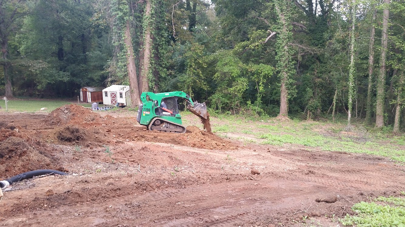 Ground Grading Service