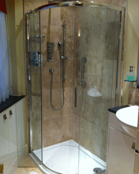 Kitchen and bathroom installations - Camberley, Surrey - Rob Cullum Plumbing & Heating - Shower
