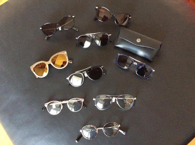 occhiali da vista e da sole