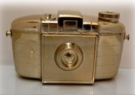 Gold plated camera