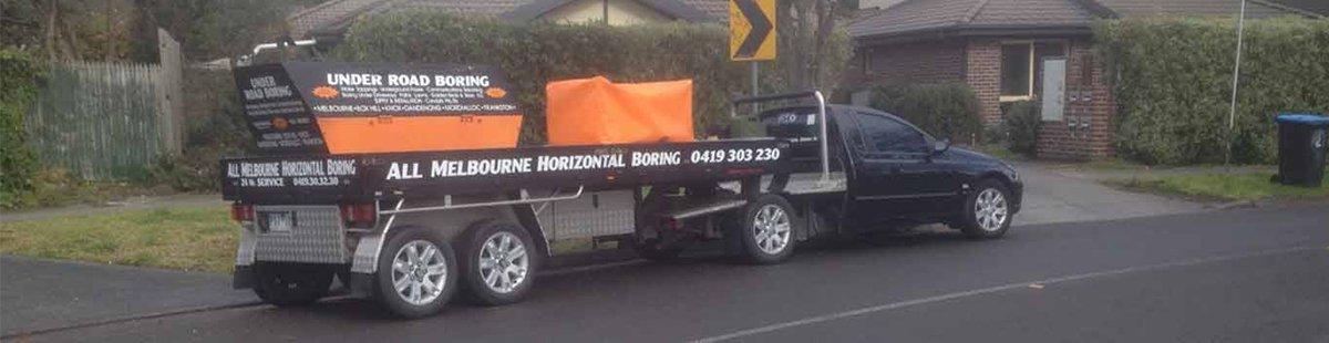 all melbourne horizontal boring excavators