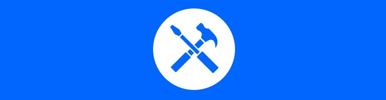 hammer and screw driver icon