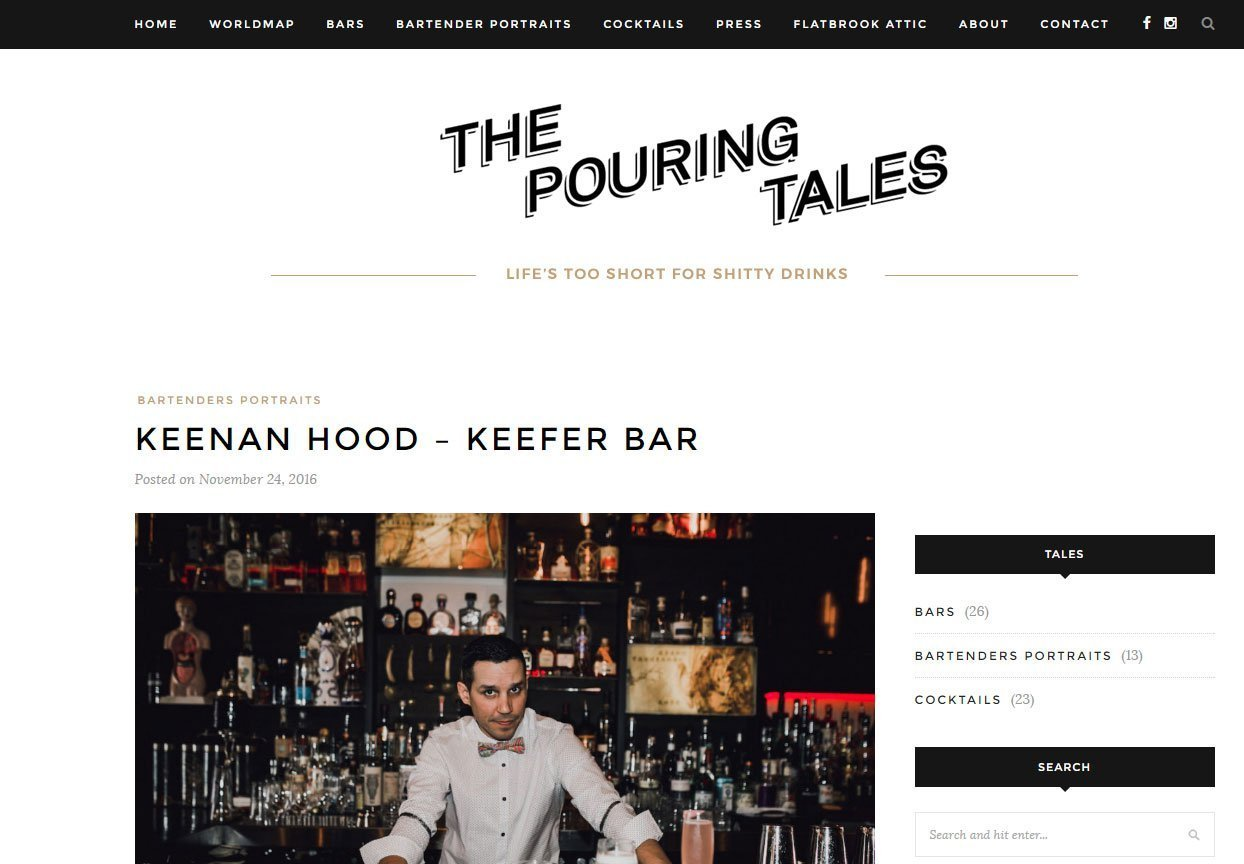 The Pouring Tales