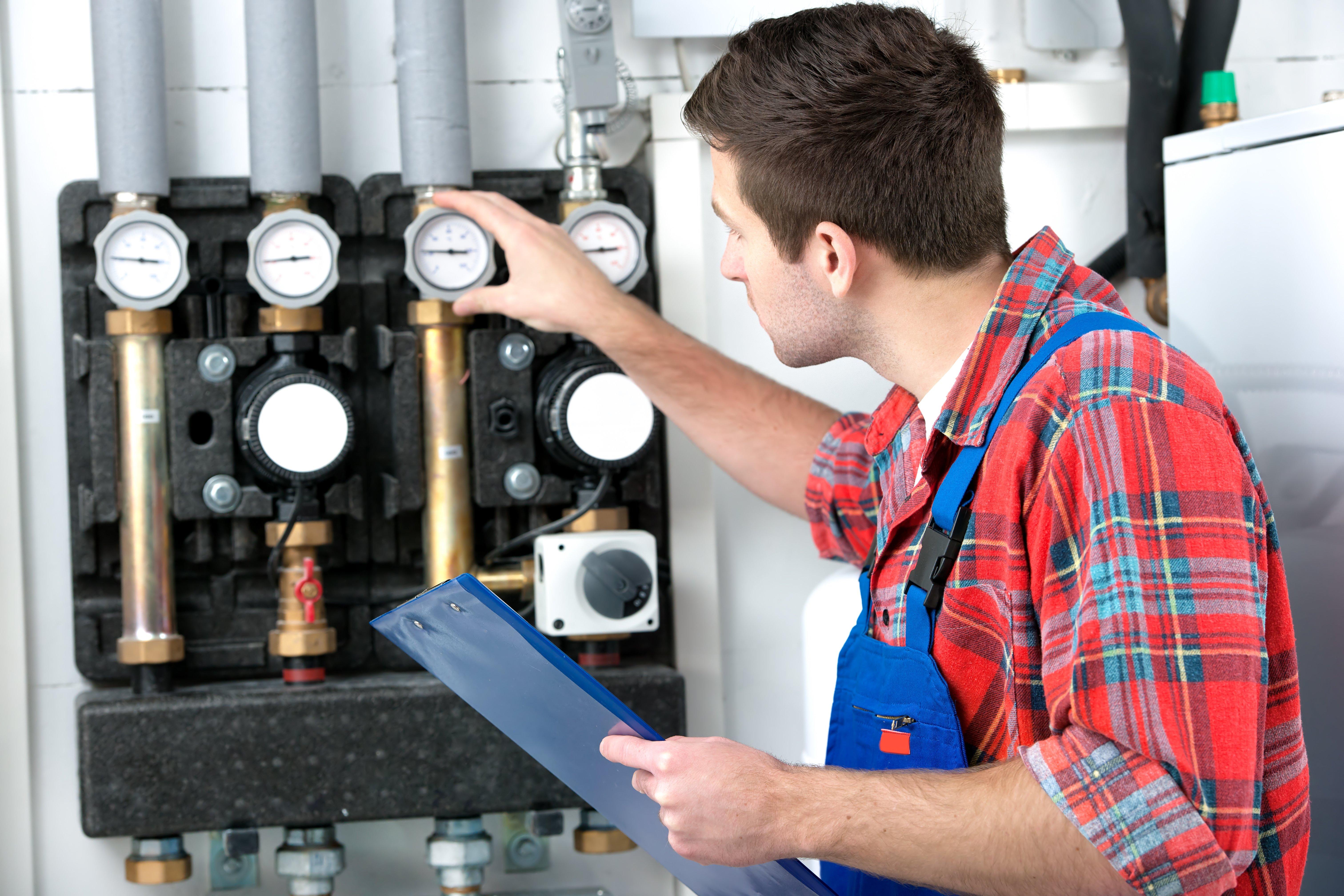 controllo impianto di riscaldamento
