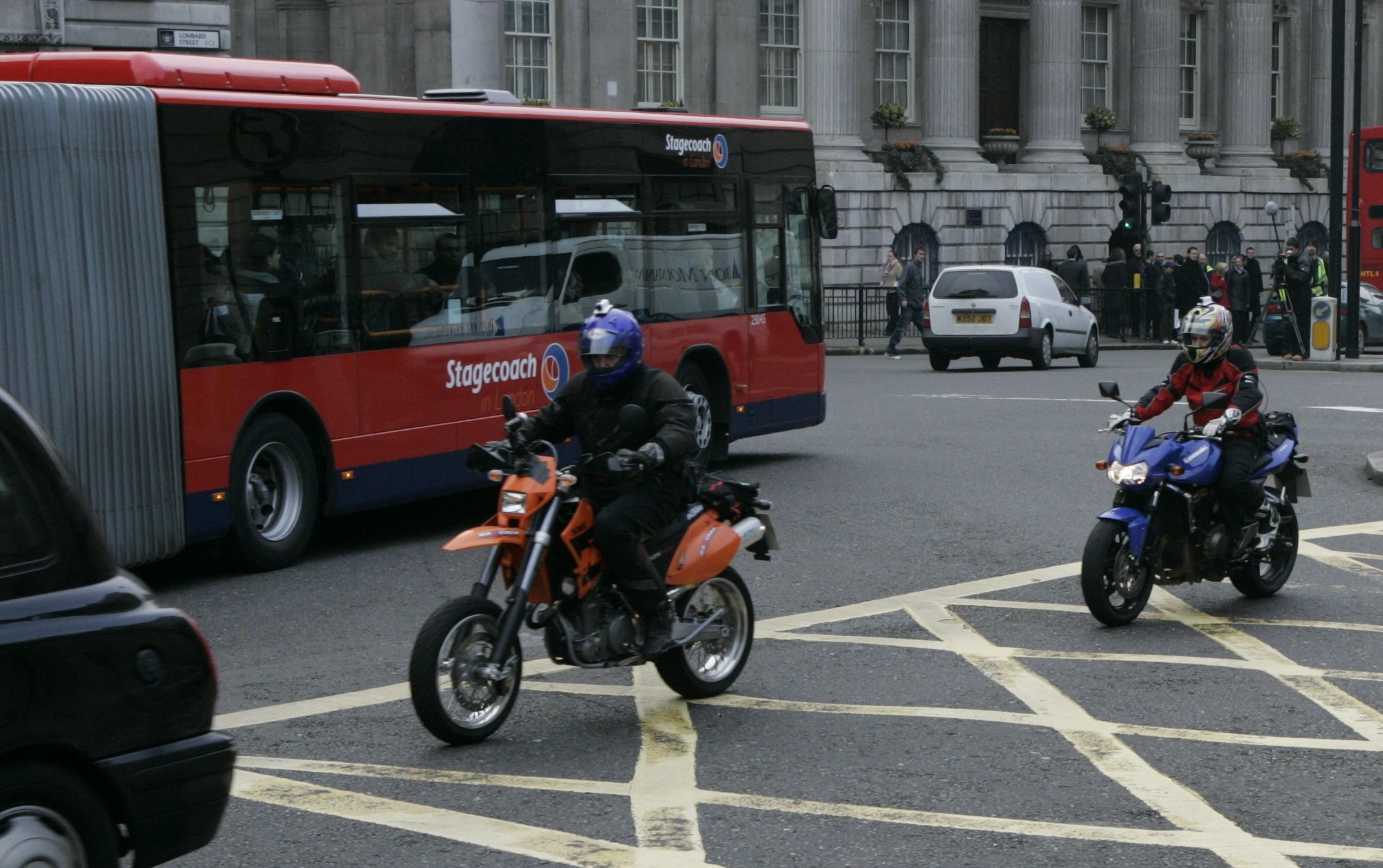 people who ride a motorcycle or scooter have better road skills which help them drive better too