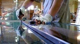 Laboratorio lavorazione vetro