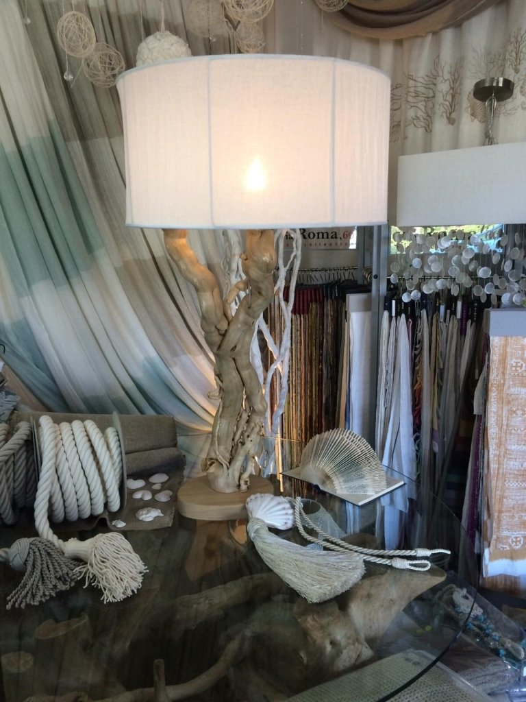 Lampade e tendaggi nautica