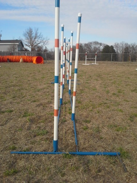 Dog Agility Channel Weave Sets