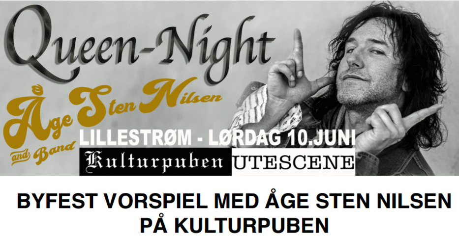 Queen Night Åge Steen Nilsen-Vorspiel Byfesten