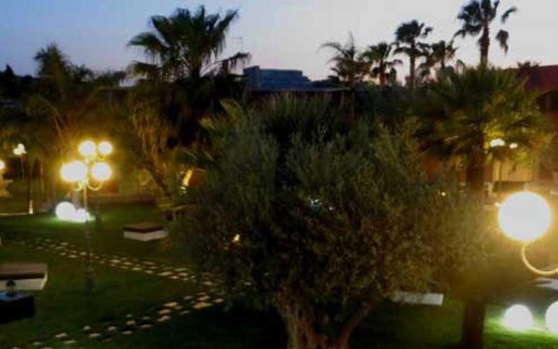 la gardenia giardino illuminato