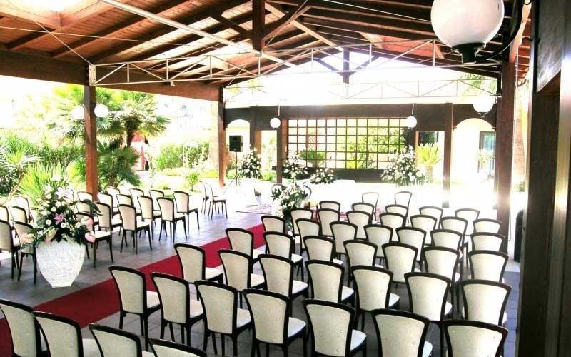 eventi e matrimoni in giardino
