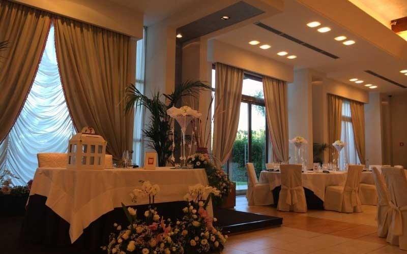 matrimoni eleganti sala ninfea