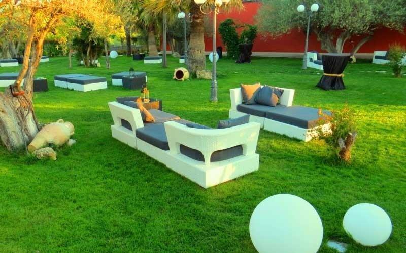 area relax giardino ristorante