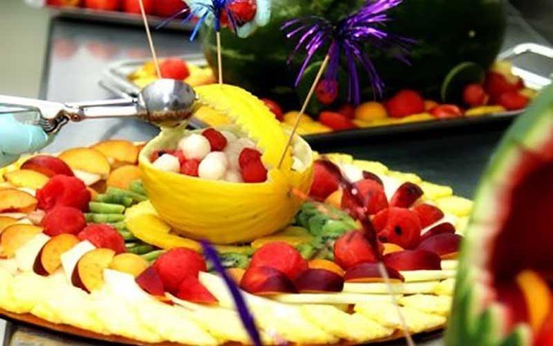 banchetti di frutta