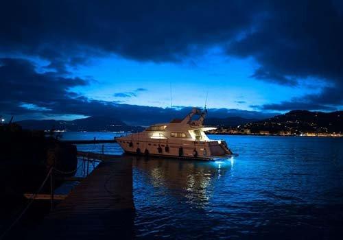 La notte nel porto