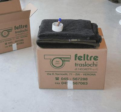 ornitura di imballaggi e materiali