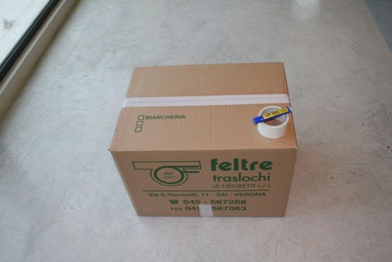 scatola di cartone
