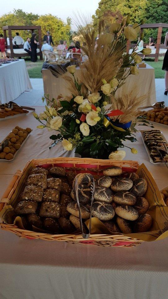 Cesto con pane in vari formati