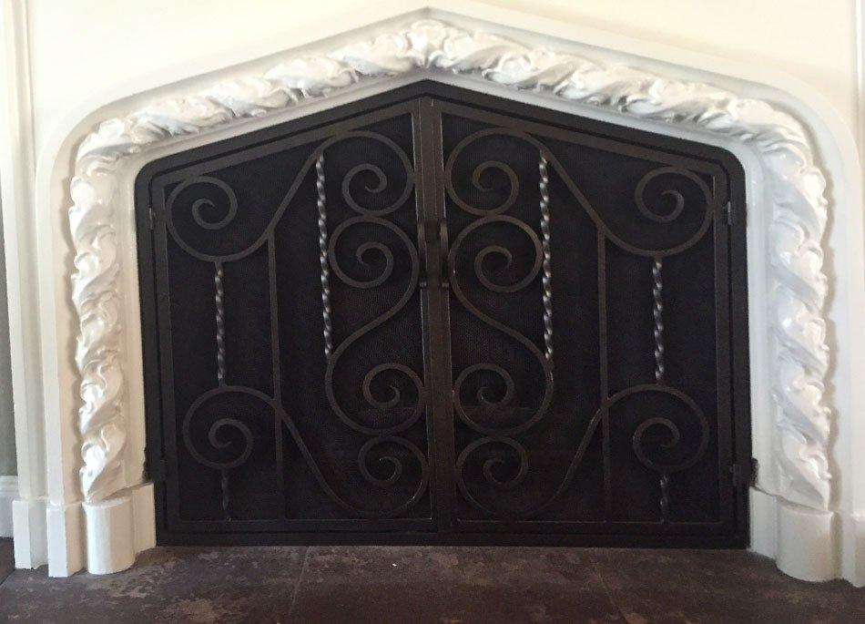 Arched Fireplace Doors San Rafael Ca Amp Walnut Creek Ca