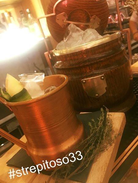 cocktail fatto nel locale strepitoso