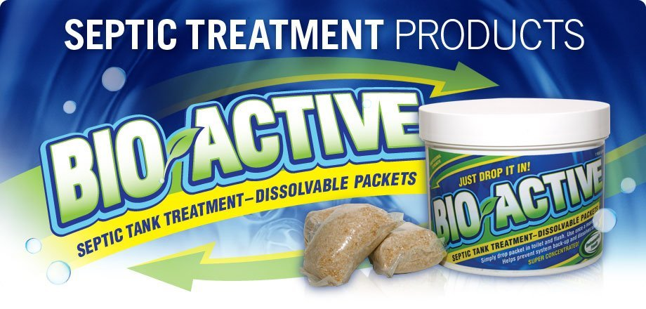 Bio-Active septic product can help your system stay healthy - learn more from johnklineseptic.com