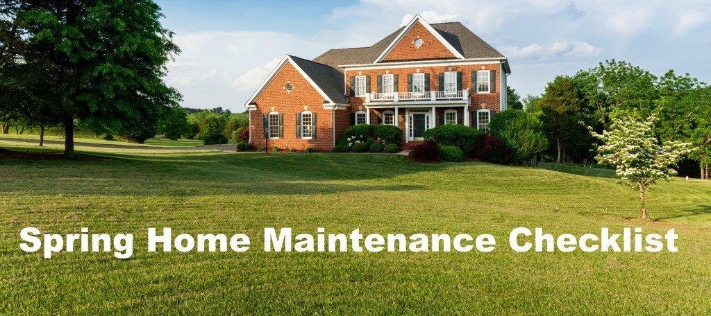 Spring Home Maintenance Checklist from John Kline Septic Services