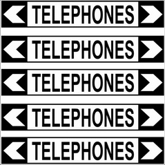 Pipe Marker - COMMUNICATION