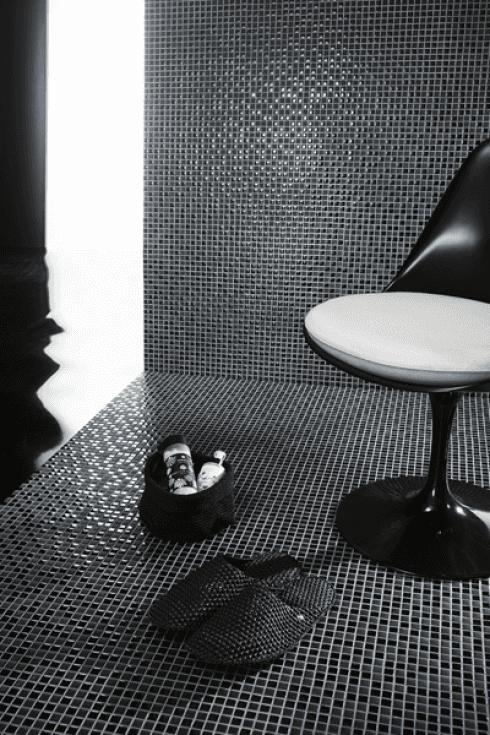mosaico ambiente bagno