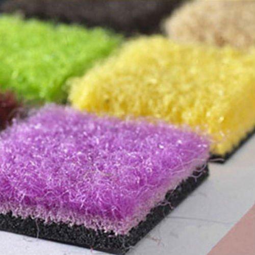 campioni di zerbini colorati