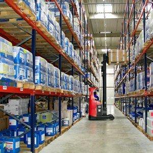 warehouse interiors