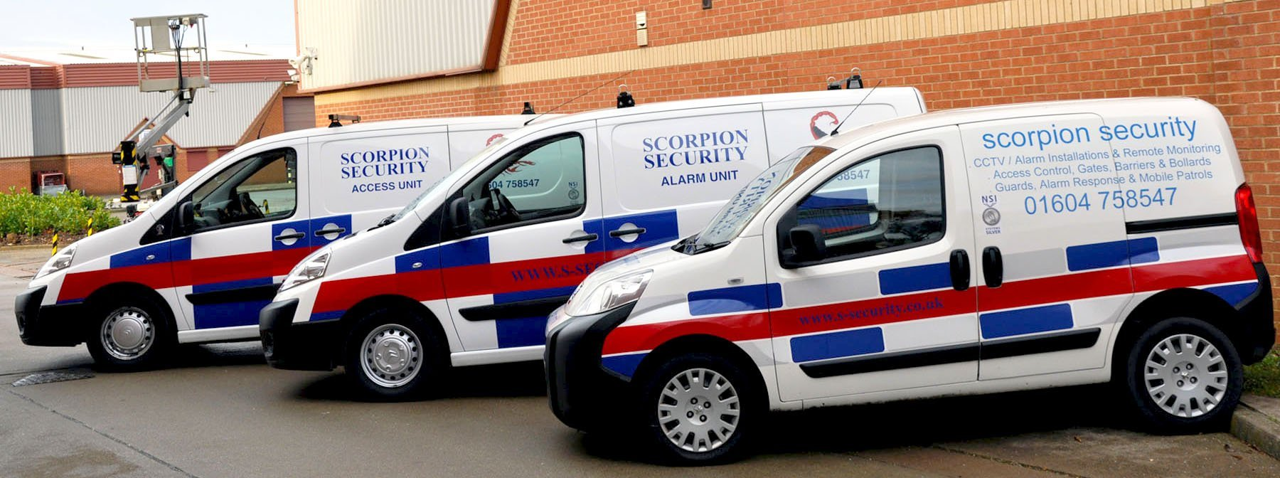 Scorpions security vehicle fleet