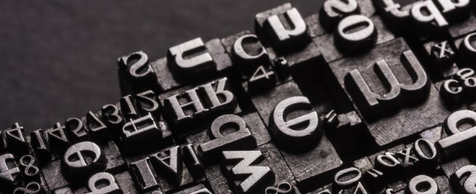 lettere per stampa