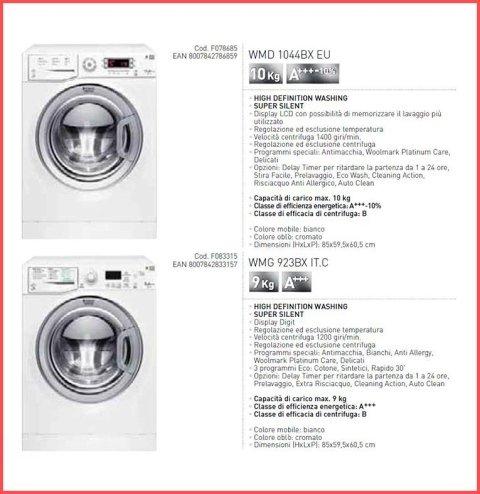 lavatrici e asciugatrici ariston