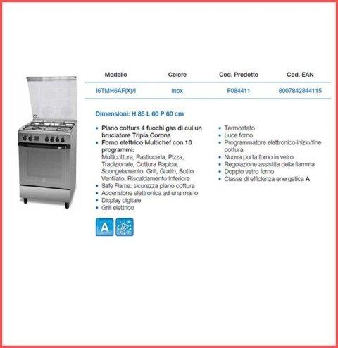 cucine indesit da libera installazione