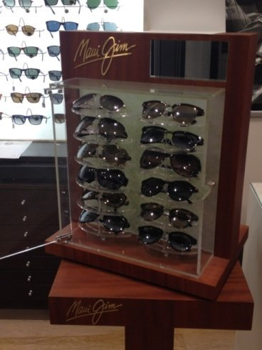 Vetrina occhiali da sole Ray ban