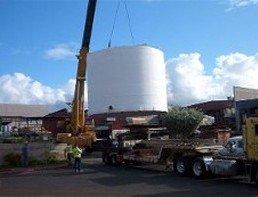 35,000 Gallon Holding Tank