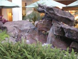 Fiberglass Water Feature at the Ilikai Hotel