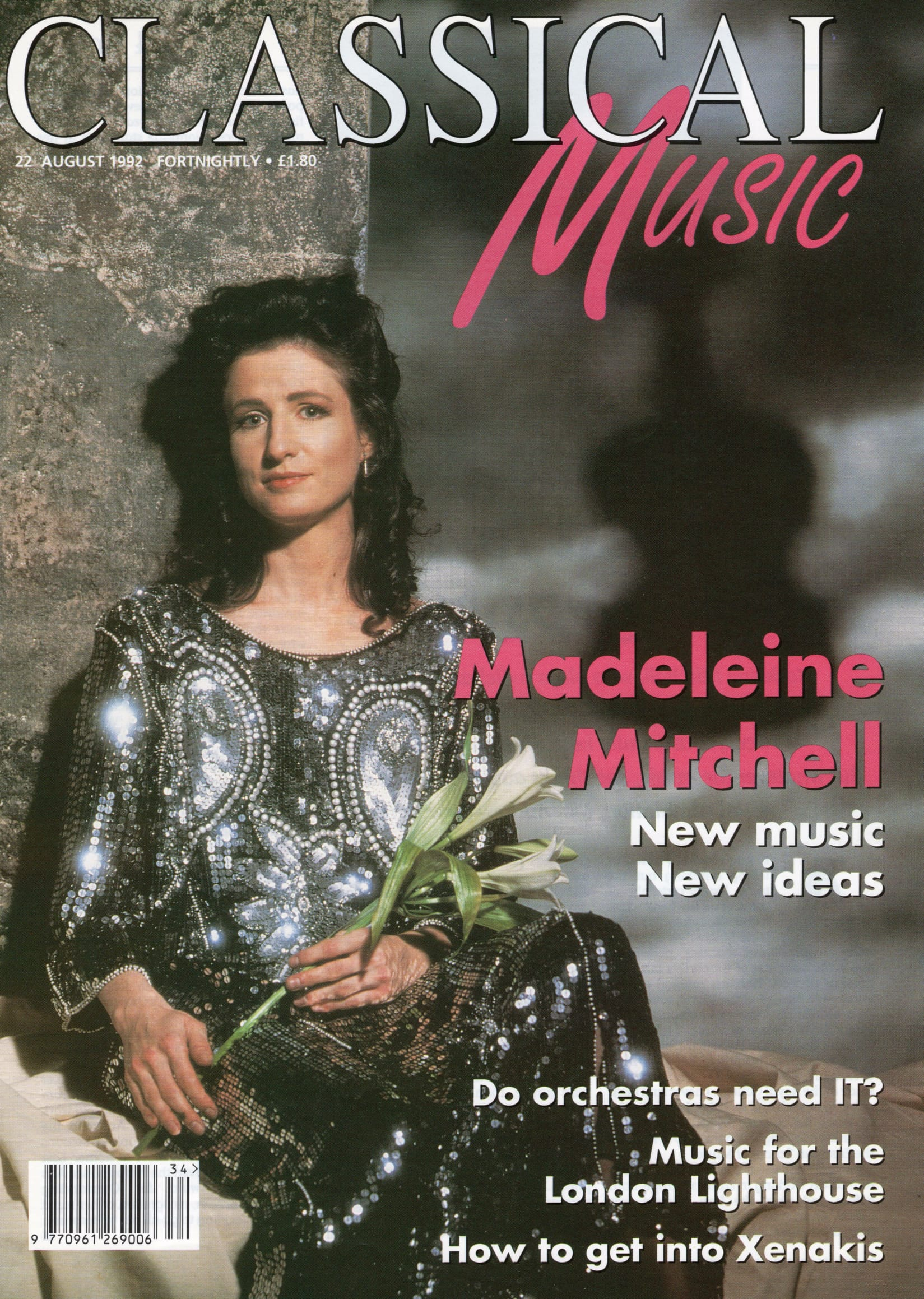 Classical Music Magazine Cover feature